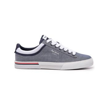 Pepe Jeans Footwear - North Court - Baskets basses - gris chine