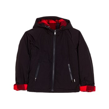 Woolrich - Giubbotto double face - nero