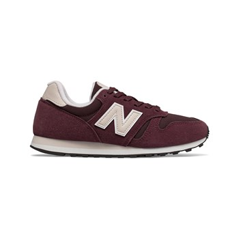 official photos 745a3 d6d86 New Balance WL373 - Baskets en daim bi-matière - bordeaux