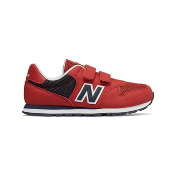 New Balance - YV500 - Snackers in pelle bimateriale - rosso