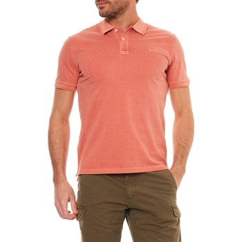 Woolrich - Polo manches courtes - corail