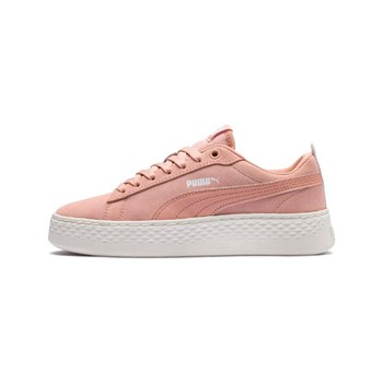 Puma - Smash Platf - Baskets basses - corail