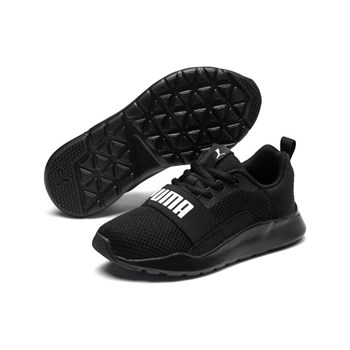 Puma - Wired - Baskets - noir