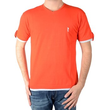 Marion Roth - T-shirt manches courtes - rouge