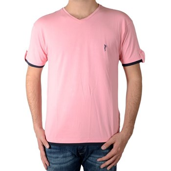 Marion Roth - T-shirt manches courtes - rose