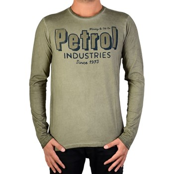 Petrol Industries - T-shirt manches courtes - beige