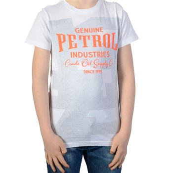 Petrol Industries - T-shirt manches courtes - blanc