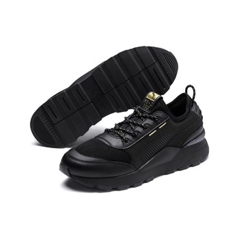 Puma - Trophy - Baskets basses - noir