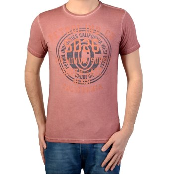 Petrol Industries - T-shirt manches courtes - rouge