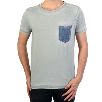 Petrol Industries - T-shirt manches courtes - gris