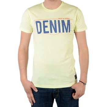 Jack and Jones - T-shirt manches courtes - jaune