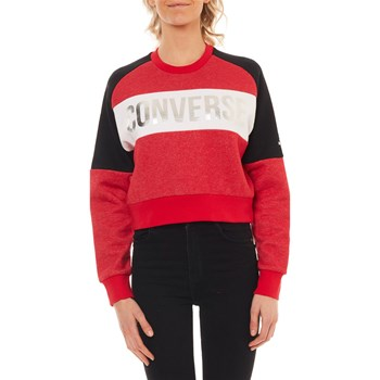 Converse - Metallic - Sweat-shirt - rouge