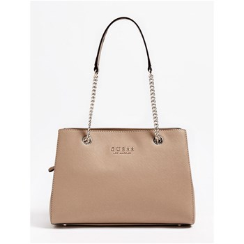 ROBYN - SAC FINITION SAFFIANO - BEIGE Guess