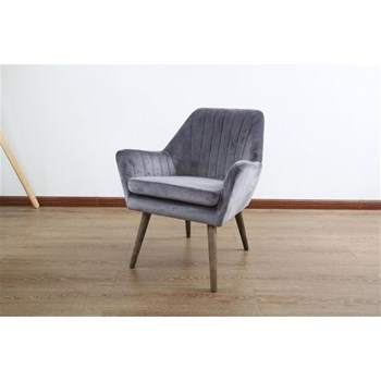 Novatrend - Fauteuil - anthracite