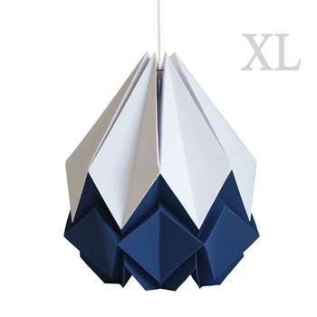 Tedzukuri Atelier - Origami design - Suspension XL - bleu