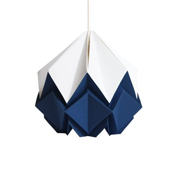 Tedzukuri Atelier - Origami design - Suspension - bleu