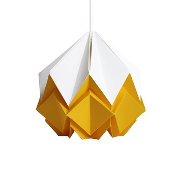 Tedzukuri Atelier - Origami design - Suspension - jaune