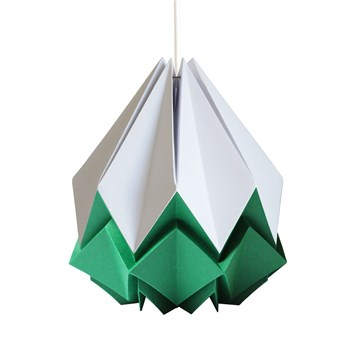 Tedzukuri Atelier - Origami design - Suspension - vert