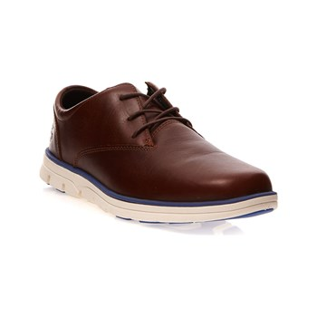Timberland - Derbies en cuir - marron