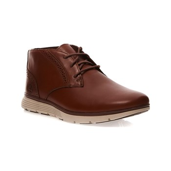 Timberland - Derbies en cuir - marron clair