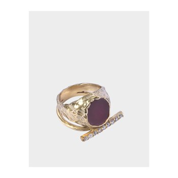 Voodoo jewels - Sigillum - Ring - goldfarben