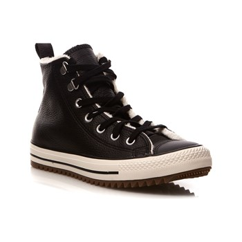 Converse - Chuck Taylor All Star - Sneakers alte in pelle - nero