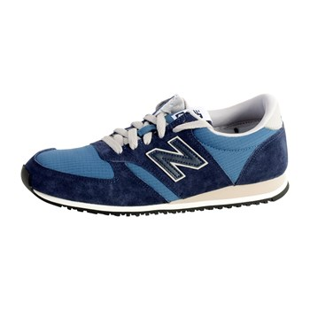 New Balance - Baskets basses - bleu marine