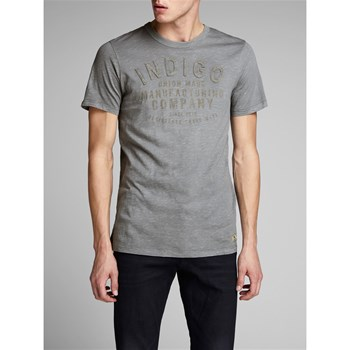 Jack & Jones - Carl - T-shirt manches courtes - gris