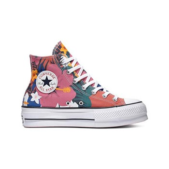 super popular 7e63f 5ce5f Converse - Chuck Taylor All Star Lift - Baskets montantes - fraise ecrasée