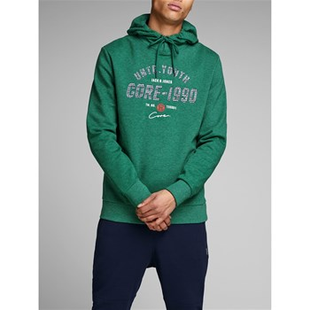 Jack & Jones - James - Sweat à capuche - vert sapin