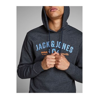 Jack & Jones - James - Sweat à capuche - bleu foncé