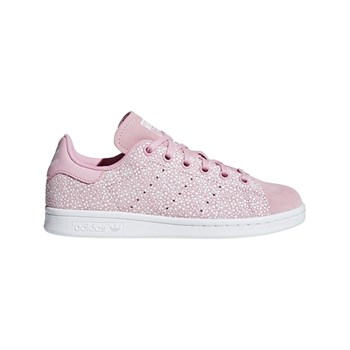 adidas Originals - Stan Smith J - Baskets en cuir - rose