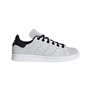 c113d8b3e42f adidas Originals - Stan Smith J - Baskets en cuir - gris