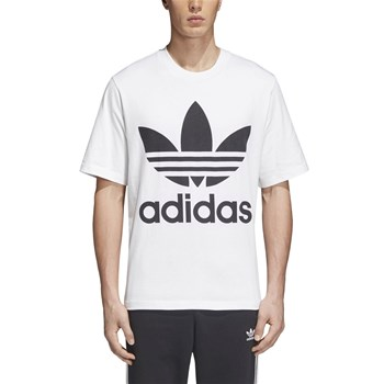 adidas Originals - T-shirt, korte mouw - wit