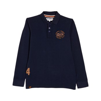 Kaporal - Polo manches longues - blu scuro