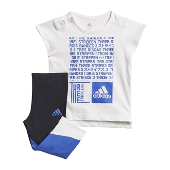adidas Performance - Ensemble t-shirt et corsaire - blanc