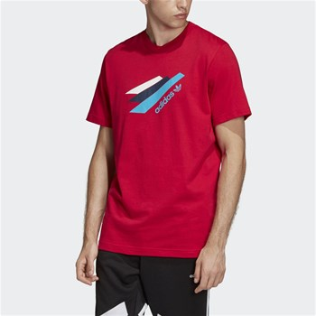 adidas Originals - Palmeston - T-shirt, korte mouw - rood