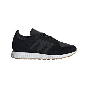 adidas Originals - Forest Grove - Baskets en cuir - noir