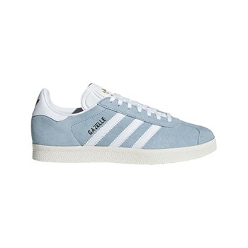 reputable site 61670 1b97c adidas Originals Gazelle - Baskets en cuir - bleu ciel