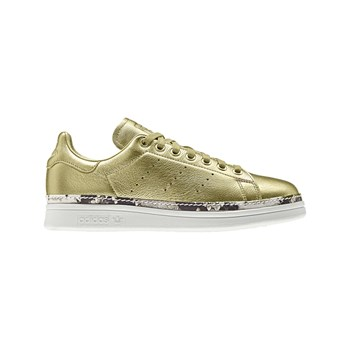 adidas Originals - Stan Smith New Bold - Ledersneakers - goldfarben