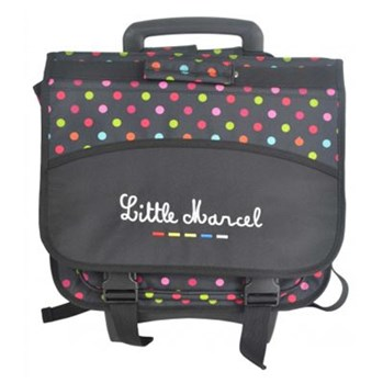 Little Marcel - Cartable - noir