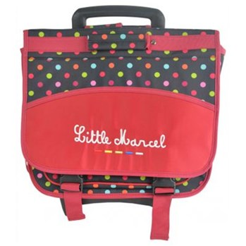 Little Marcel - Cartable - rouge