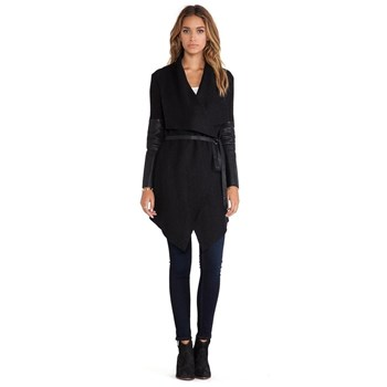 Holary - Manteau - noir