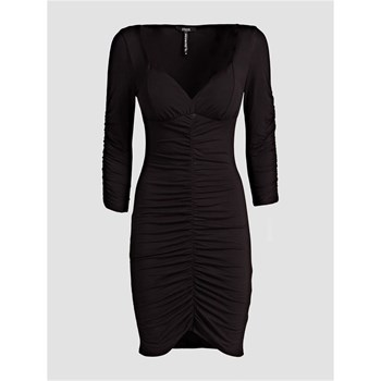 ROBE FINITION STRETCH - NOIR Guess