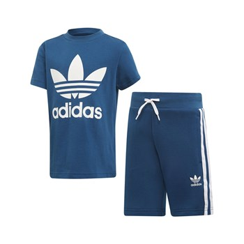 adidas Originals - Ensemble t-shirt et short - blanc