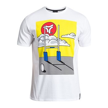 Rugby Division - Roy - T-shirt manches courtes - blanc