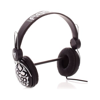 Rugby Division - Headphone - Casque audio noir et blanc - noir