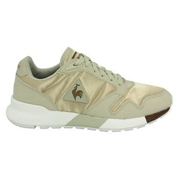Le Coq Sportif - Omega x women satin - Baskets basses - beige