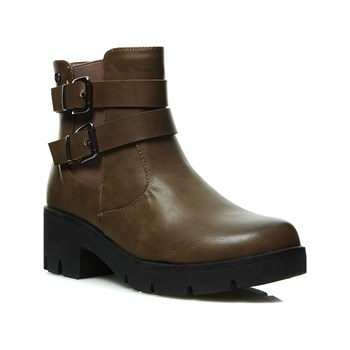 Bas - Boots - taupe