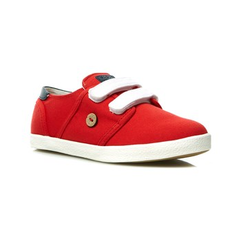 Faguo - CYPRESS KID VELCRO COTTON - Tennis - rouge